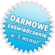 DARMOWE zawiadczenia w 5 minut!